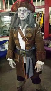 Dead Pirate Costume Halloween Bespoke Theatrical Quality Halloween Goth Fancy Dress Costume