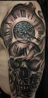 vintage clock tattoo for men tattoo inspirations pinterest