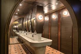 How To Design A Interesting Restaurant Bathroom In Modern Style - Restaurant bathroom design