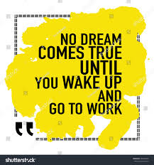 quote goals are dreams with deadlines motivational quote poster no dream comes stock vector 362493656