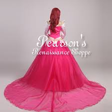 disney sleeping beauty princess aurora multilayer tulle dress