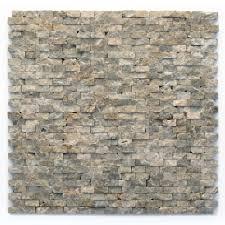 solistone unique shapes brown natural stone unique shapes tile