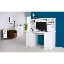 matelpro bureau matelpro bureau contemporain avec réhausse coloris blanc