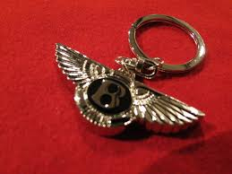 bentley silver wings silver u201cbentley wings u201d key ring with gift box 19 95 inc vat