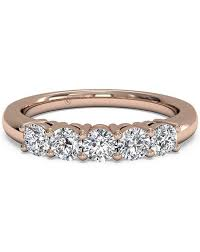 gold diamond band gold wedding rings
