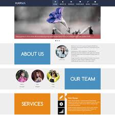 download layout html5 css3 template 403 karma