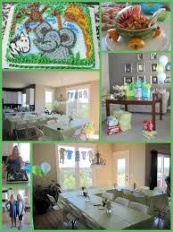 Interior Design Creative Jungle Theme Baby Shower Table