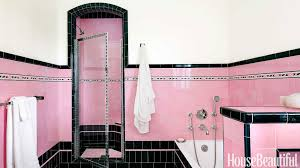 Pink And Black Bathroom Ideas Spectacularly Pink Bathrooms That Bring Retro Style Back