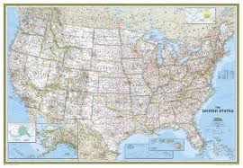 Map De Usa by Ngs Political Us Map Large Size