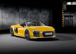 Audi R8 Jet Black - why the new 2017 audi r8 spyder stuns without a roof luxury4play com