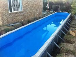 above ground lap pool decofurnish above ground lap pool helena source