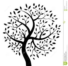 black tree icon royalty free stock photo image 26603535