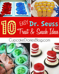 dr seuss cupcakes thing one and thing two cupcakes