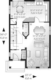 shadehill narrow lot home plan 032d 0627 house plans and more