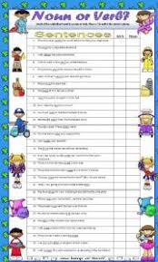 english exercises nouns or verbs