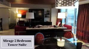 Mirage Las Vegas Two Bedroom Tower Suite YouTube - Vegas two bedroom suites