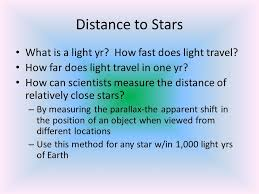 How Fast Does Light Travel Ch 30 Stars Galaxies And The Universe Ppt Download