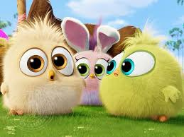 angry birds movie hatchlings easter themed clip