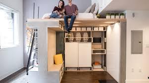domino loft system transforms 1 room into 4