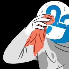 Sweating Guy Meme - tiebreaker 2 2017 world chionship group b post match