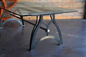 industrial glass dining table industrialux dining table vintage industrial furniture industrial