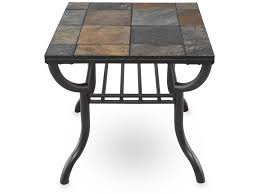 ashley antigo slate dining table ashley antigo square end table home pinterest slate