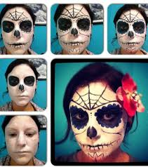 sugar skull makeup steps mugeek vidalondon