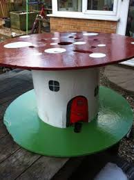 Cable Reel Table by Cable Drum Table For Kiddies Real Easy To Make Diy U0026 Crafts