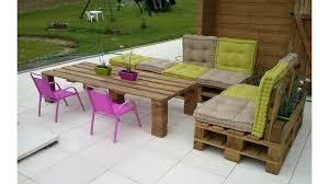 fabrication canapé en palette awesome plan pour fabriquer un salon de jardin avec des palettes