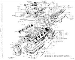 Ford 390 Water Pump Ford Truck Technical Drawings And Schematics Section E Engine