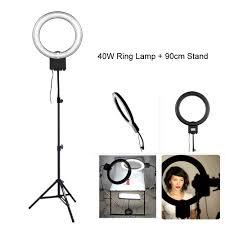 ring light for video camera studio 40w 5400k daylight fluorescent diva ring light l for