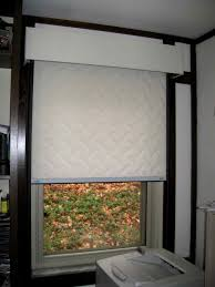 thermal window shades insulated decor window ideas