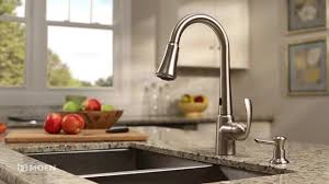 delaney pulldown kitchen faucet with motionsense moen features