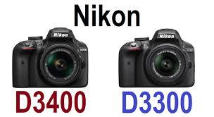 nikon d3400 vs nikon d3300 almost nothing new youtube