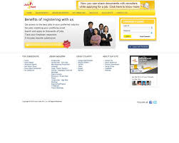 Online Resume Submit by Web Design Example A Page On Jobs4hunt Com Crayon