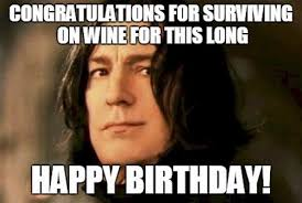 Birthday Wine Meme - 30 happy birthday wine memes wishesgreeting