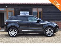 land rover evoque blue used 2013 land rover range rover evoque sd4 prestige lux for sale
