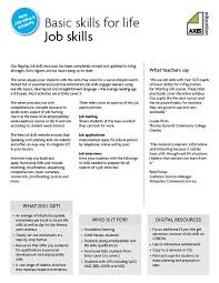 job skills worksheets worksheets
