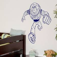 large toy story buzz lightyear childrens bedroom wall art mural large toy story buzz lightyear childrens bedroom wall art mural sticker decal childrens