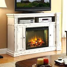 cherry wood electric fireplace tv stand corner media mantel front