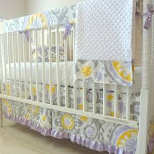 baby bed u0027s lavender and grey baby crib bedding baby bed u0027ss
