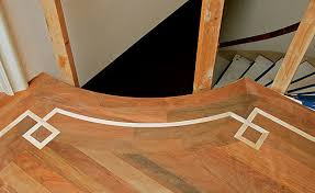 cutting and bending curved floor parts homebuilding