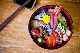 japanese cuisine bar chirashi don sushi bar seasonal chirashi donburi japanese