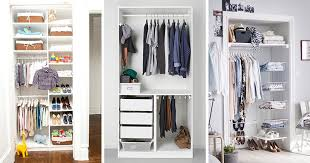 small closet 9 storage ideas for small closets contemporist