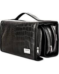 Professional Makeup Carrier Deal Alert Nyx Professional Makeup Black Croc Embossed Deluxe