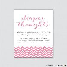 printable glitter baby shower diaper thoughts game instant