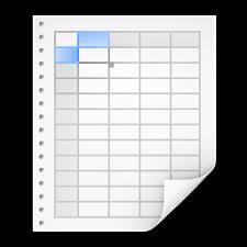 telecharger icone bureau l icône bureau tableur mimetypes x ico png icns icônes gratuites
