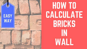 how to calculate square feet how to calculate number of bricks in wall in hindi youtube