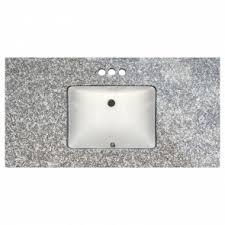 Bathroom Vanity Tops 43 X 22 Soni Interiors Supply Orlando Bainbrook Brown Prefabricated