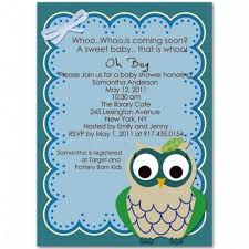 funniest baby shower and adorable owl baby shower invitations bs221
